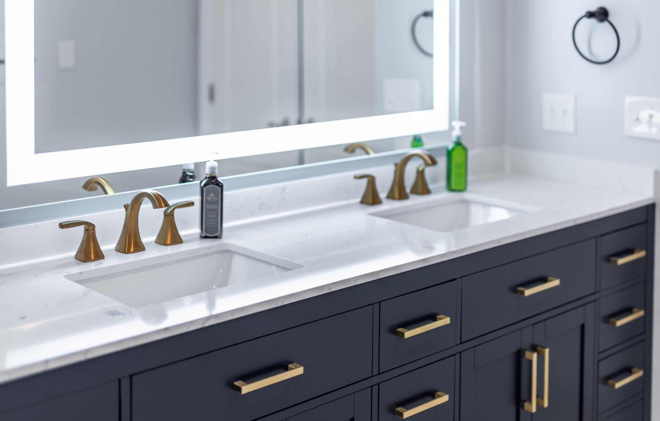 bathroom vanities installation