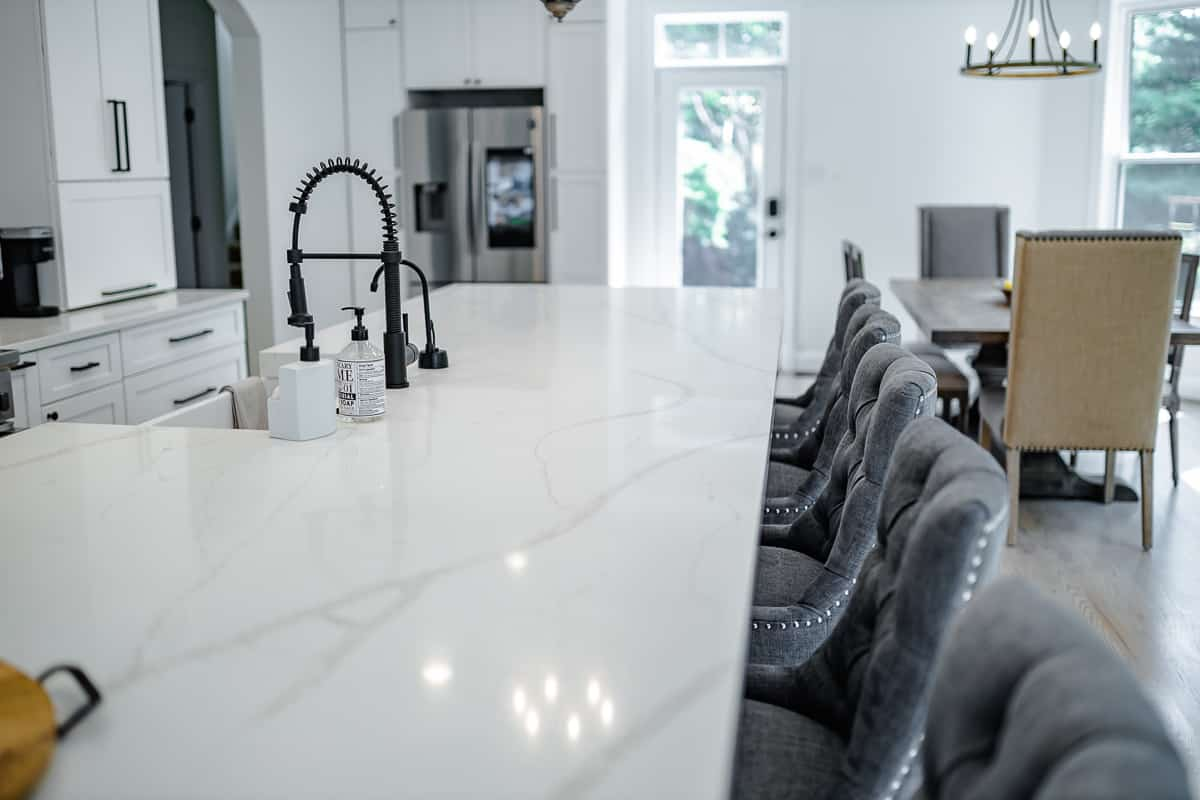 kitchen dining table renovation ellicott city