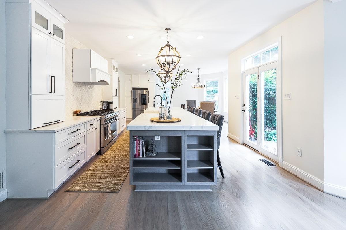 kitchen floor installation ellicott city