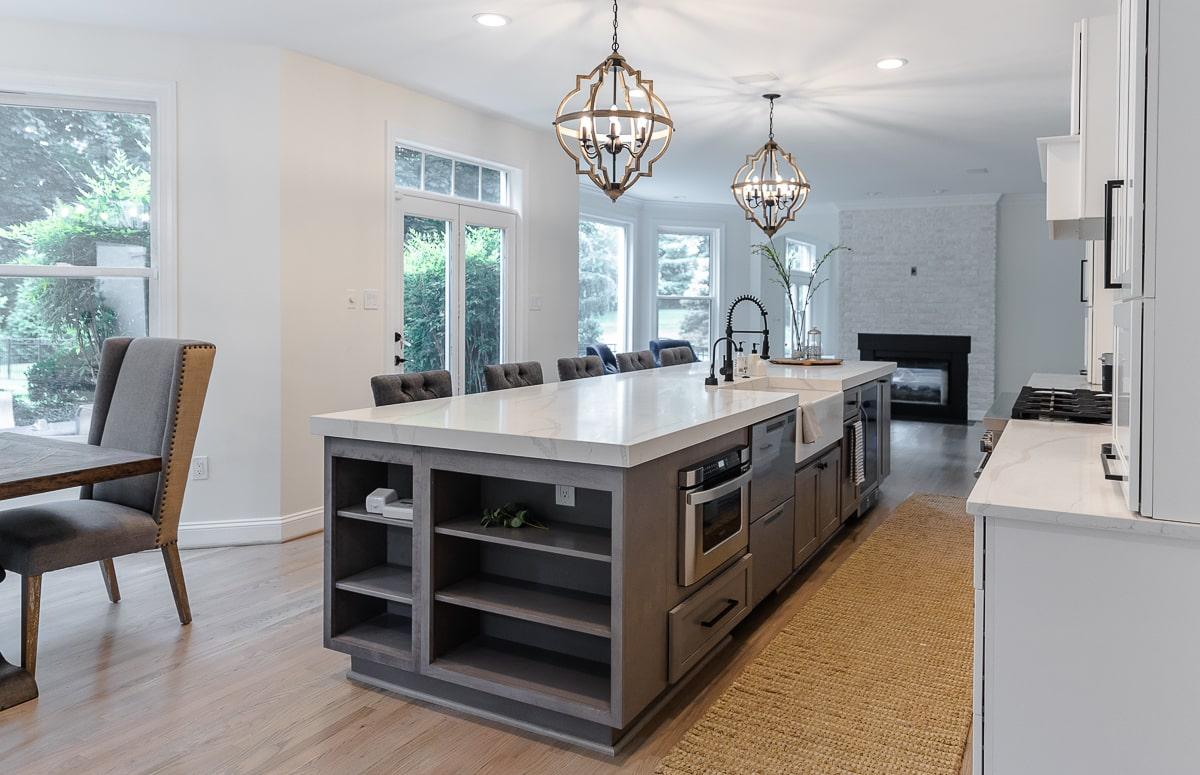 kitchen remodeling project in ellicott city va