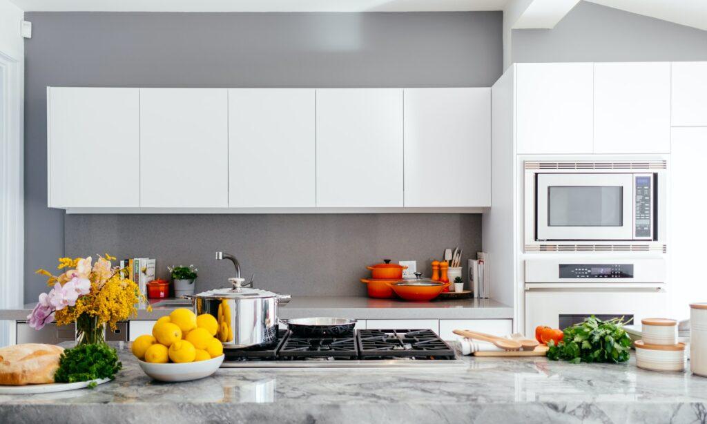 handleless kitchen cabinet