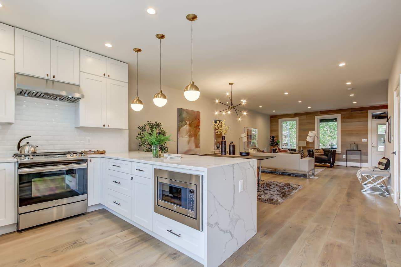 l-shaped kitchen layout