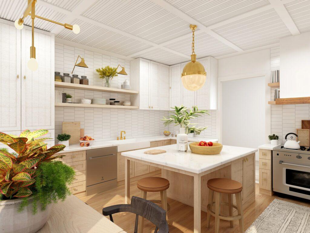 minimal kitchen furniture