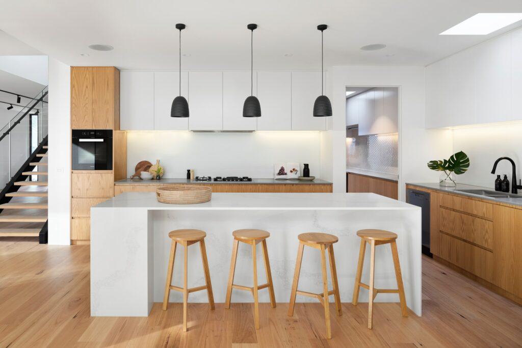 minimal kitchen remodel