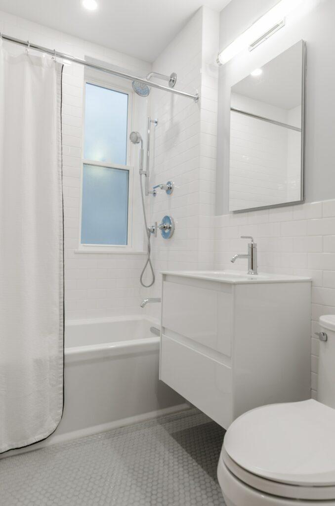modern bathroom caniet design