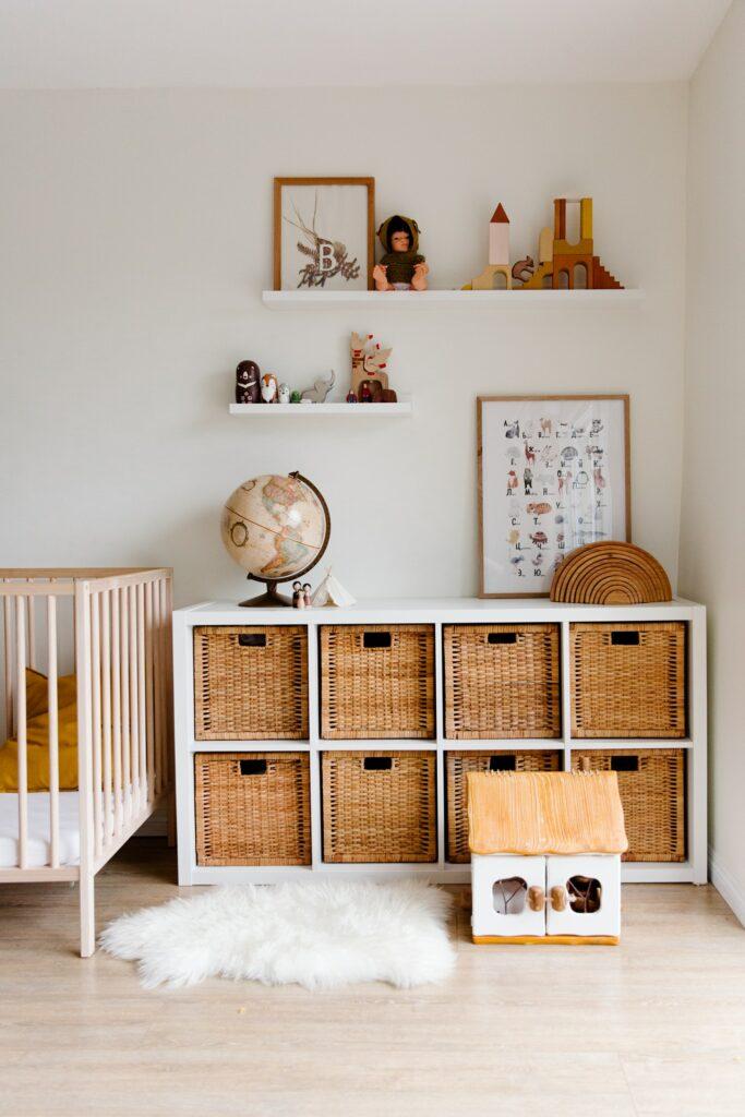 remodel baby room storage