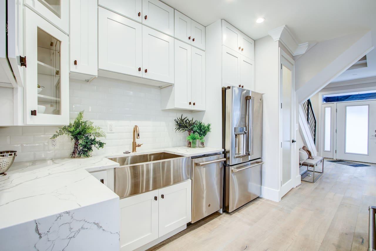 remodel white kitchen design