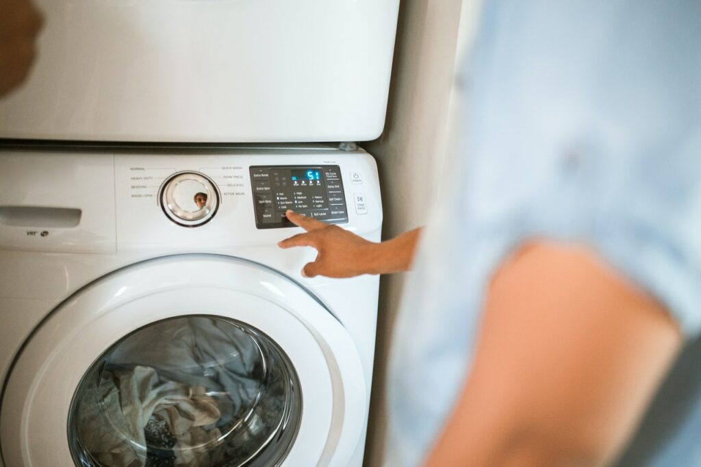 washing machine laundry room